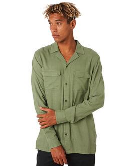 GREEN ARMY MENS CLOTHING BANKS SHIRTS - WLS0093GRA