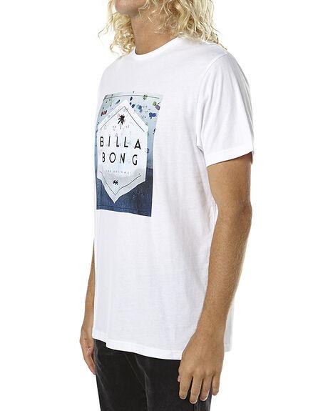 WHITE MENS CLOTHING BILLABONG TEES - 9561022WHT