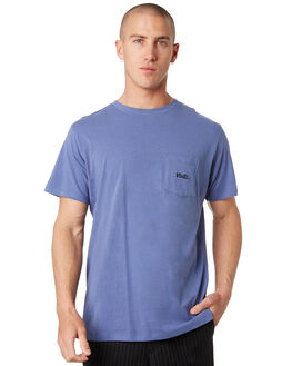 PROVINCIAL BLUE MENS CLOTHING MISFIT TEES - MT096001PVBLU
