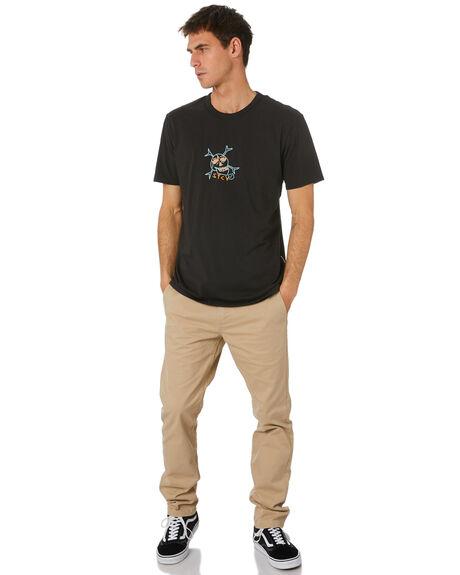 BLACK MENS CLOTHING STCY MFG TEES - STTPRETTYBLK