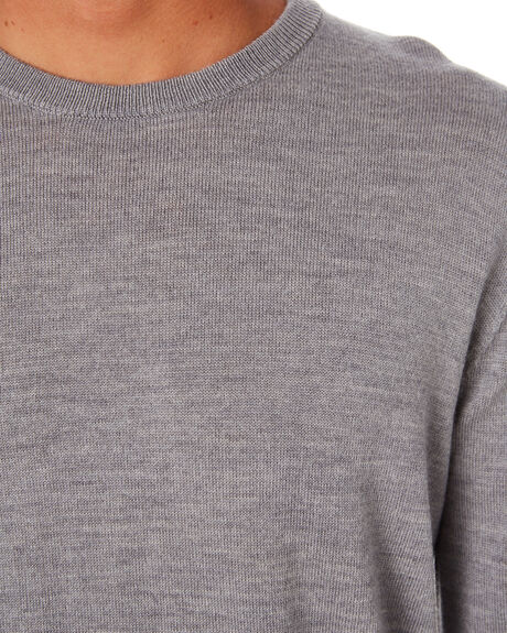 GREY MENS CLOTHING ACADEMY BRAND KNITS + CARDIGANS - 20W440GREY