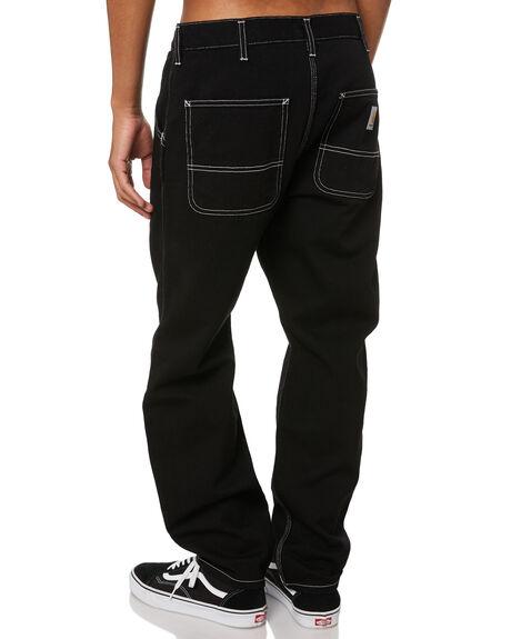 BLACK MENS CLOTHING CARHARTT JEANS - I02721889