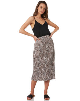 LEOPARD PRINT WOMENS CLOTHING ALL ABOUT EVE SKIRTS - 6446140LPD