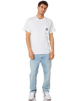 WHITE MENS CLOTHING OCTOPUS TEES - OCTO-FD-WHT