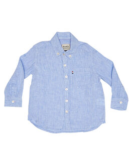 CHAMBRAY KIDS TODDLER BOYS ROOKIE BY THE ACADEMY BRAND TOPS - R19S840CHAM