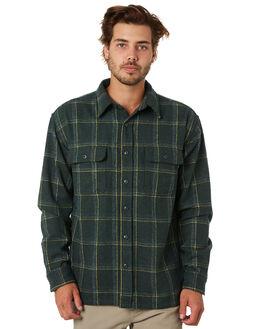 RIFLE GREEN MENS CLOTHING RUSTY SHIRTS - WSM0925RFG