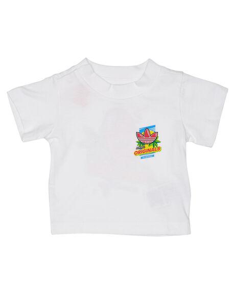 WHITE KIDS BABY ADIDAS CLOTHING - ED7702WHT