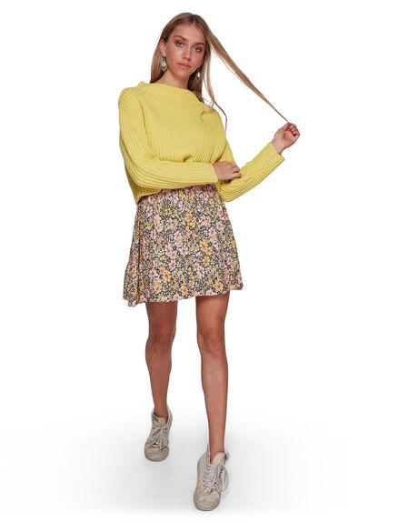 OFF BLACK WOMENS CLOTHING BILLABONG SKIRTS - BB-6507525-OFB