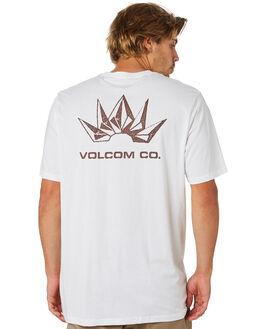 WHITE MENS CLOTHING VOLCOM TEES - A5001933WHT