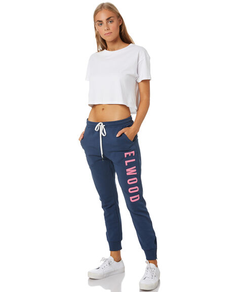 DUSTY NAVY WOMENS CLOTHING ELWOOD PANTS - W01615NVY