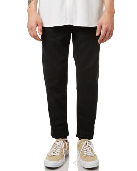 BLACK MENS CLOTHING NO NEWS PANTS - N5174192BLK