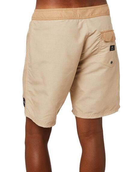 BROWN MENS CLOTHING RUSTY BOARDSHORTS - BSM1525BRN