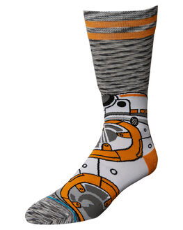 GREY MENS ACCESSORIES STANCE SOCKS + UNDERWEAR - M545D17BB8GRY