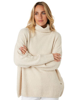 STONE WOMENS CLOTHING RIP CURL KNITS + CARDIGANS - GSWHK12019