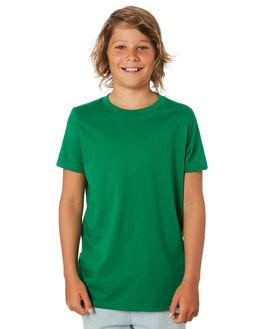 KELLY GREEN KIDS BOYS AS COLOUR TOPS - 3006-KGRN