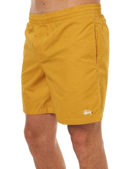 MUSTARD MENS CLOTHING STUSSY BOARDSHORTS - ST072620MUS