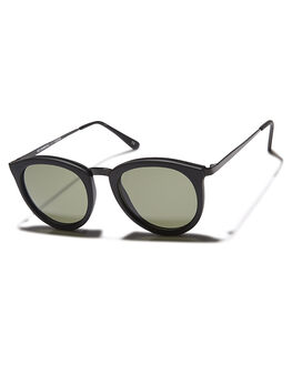 BLACK RUBBER MENS ACCESSORIES LE SPECS SUNGLASSES - LSP1502098BLRUB