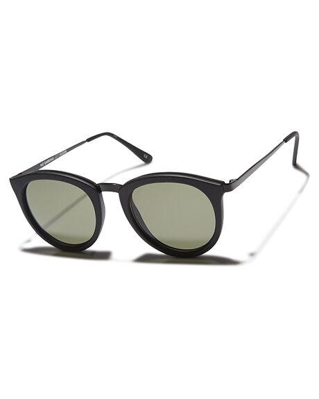 358cae021f Le Specs No Smirking Sunglasses - Black Rubber