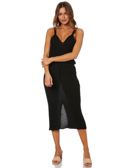 BLACK WOMENS CLOTHING RUE STIIC SKIRTS - WS-20-K-13-BLCT