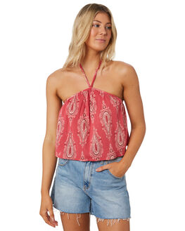 ROSE WOMENS CLOTHING TIGERLILY FASHION TOPS - T391053ROSE