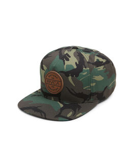 CAMO MENS ACCESSORIES RVCA HEADWEAR - RV-R308563-CMO
