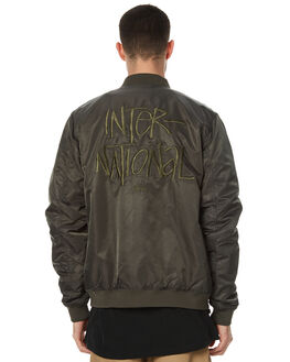 MILITARY MENS CLOTHING STUSSY JACKETS - ST071501MIL