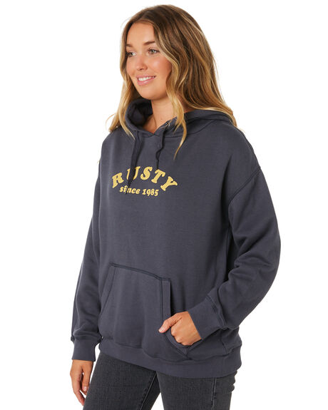 DARK SAPPHIRE WOMENS CLOTHING RUSTY JUMPERS - FTL0683DRS