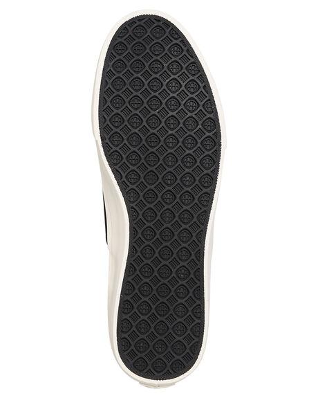BLACK MENS FOOTWEAR HUF SKATE SHOES - VC00012BLK