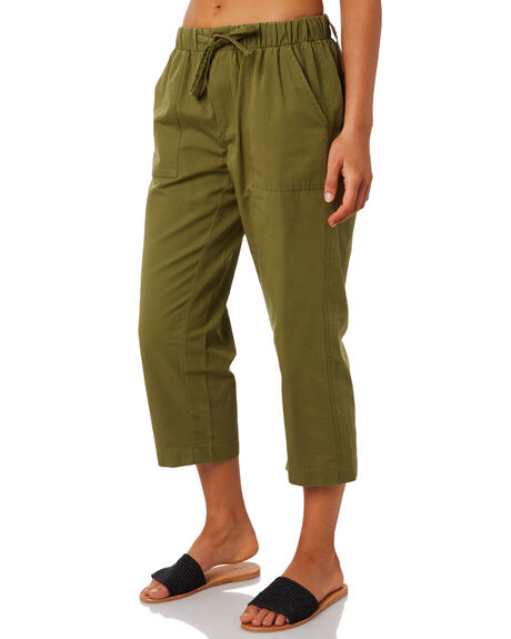 WASHED KHAKI OUTLET WOMENS SWELL PANTS - S8202193WKHA