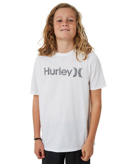 WHITE KIDS BOYS HURLEY TOPS - AO2239100