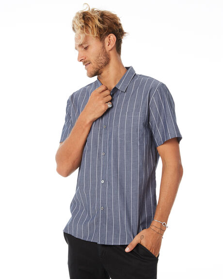 NAVY MENS CLOTHING SWELL SHIRTS - S5184177NAVY