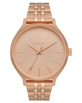 ALL ROSE GOLD WOMENS ACCESSORIES NIXON WATCHES - A1249897