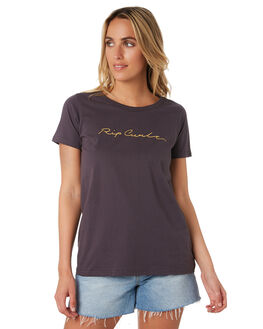 NINE IRON WOMENS CLOTHING RIP CURL TEES - GTEDB24285