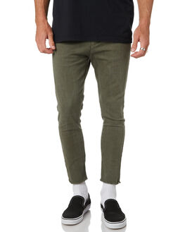 SURPLUS GREEN MENS CLOTHING THE PEOPLE VS PANTS - AW19068-SGSUGRN