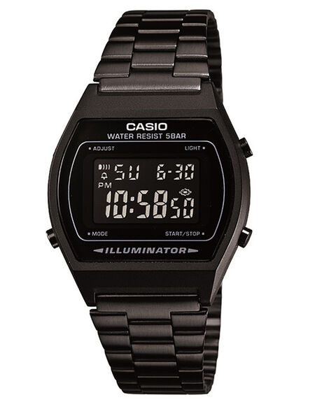 BLACK BLACK MENS ACCESSORIES CASIO WATCHES - B640WB-1B