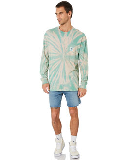 TURQUOISE MENS CLOTHING STUSSY TEES - ST005114TRQS