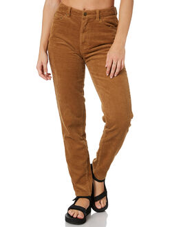 CAMEL WOMENS CLOTHING RUSTY JEANS - PAL1159CAM