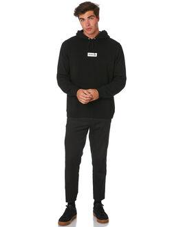 BLACK MENS CLOTHING HURLEY JUMPERS - BQ0575010