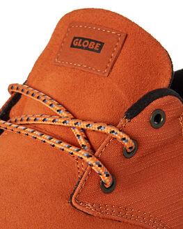 BURNT ORANGE MENS FOOTWEAR GLOBE SKATE SHOES - GBWINSLOW-19978