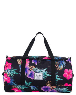 BLACK PINAPPLE WOMENS ACCESSORIES HERSCHEL SUPPLY CO BAGS - 10348-01852BKPNE