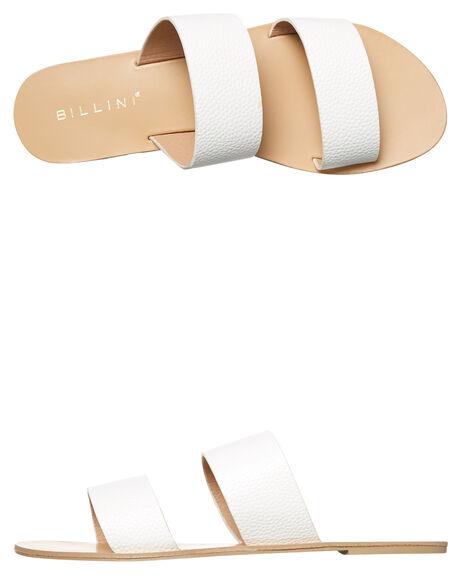 WHITE PEBBLE WOMENS FOOTWEAR BILLINI FASHION SANDALS - S404WHTPEB
