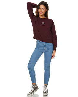 PLUM WOMENS CLOTHING RVCA JUMPERS - R274151APLUM