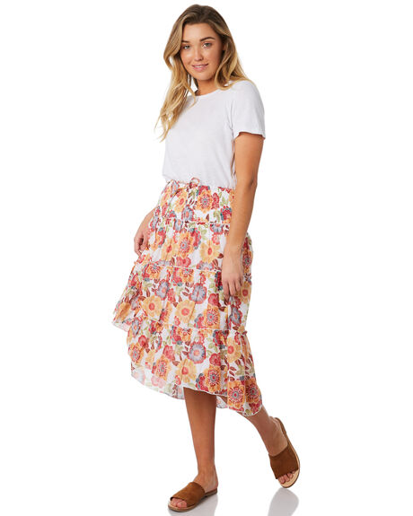 WHITE OUTLET WOMENS THE HIDDEN WAY SKIRTS - H8184476WHITE