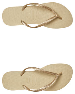 SAND GREY WOMENS FOOTWEAR HAVAIANAS THONGS - 40000302719