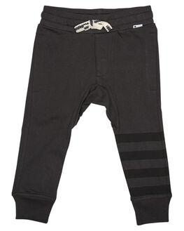 SOFT BLACK KIDS TODDLER BOYS MUNSTER KIDS PANTS - MK172PA01SBLK