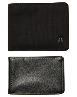 ALL BLACK NYLON MENS ACCESSORIES NIXON WALLETS - C29721148