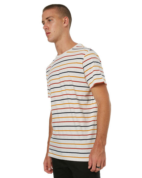 WHITE HEATHER MENS CLOTHING ELEMENT TEES - 174103WHTR