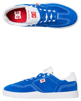 BLUE MENS FOOTWEAR DC SHOES SNEAKERS - ADYS100444XBBW
