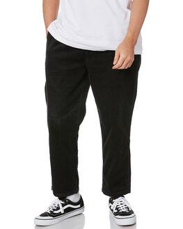 WASHED BLACK MENS CLOTHING BRIXTON PANTS - 04176WBLK