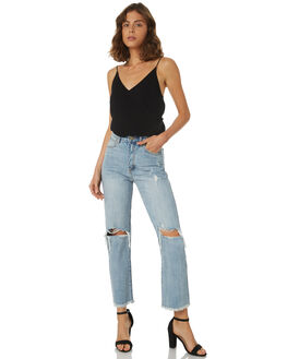 DA BOMB WOMENS CLOTHING A.BRAND JEANS - 71276-4042